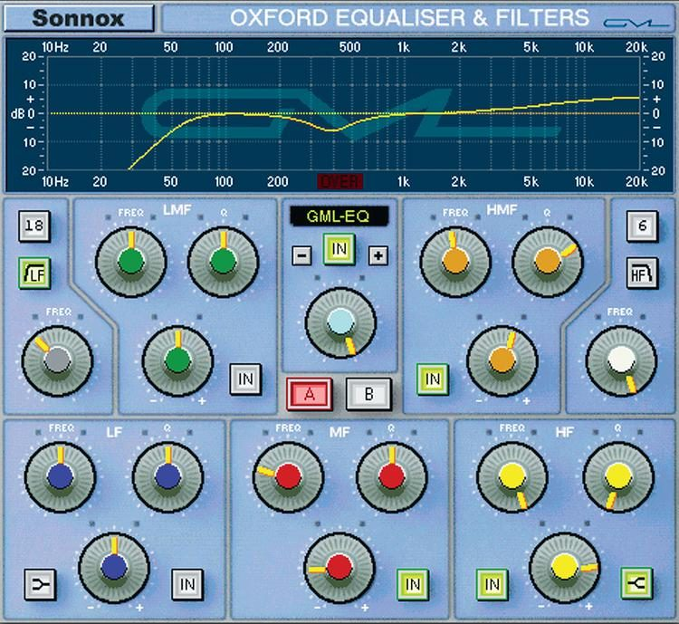 Oxford EQ with GML Option Plug-in - HD-HDX