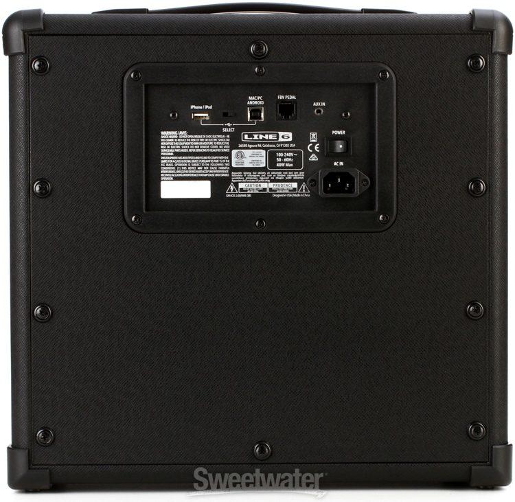 Line 6 Spider V 30 Watt 1x8 Modeling Combo Amp Image 3