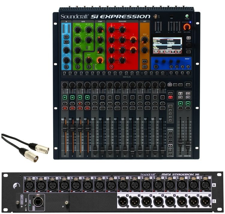 ref 2 Soundcraft Si Performer 3 32 Channel Sound Mixer Video Production & Editing