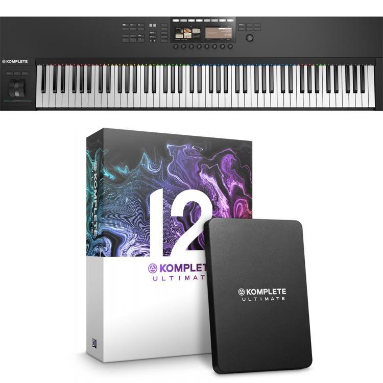 4a3677570ad Native Instruments Komplete Kontrol S88 MK2 with Komplete 12 Ultimate