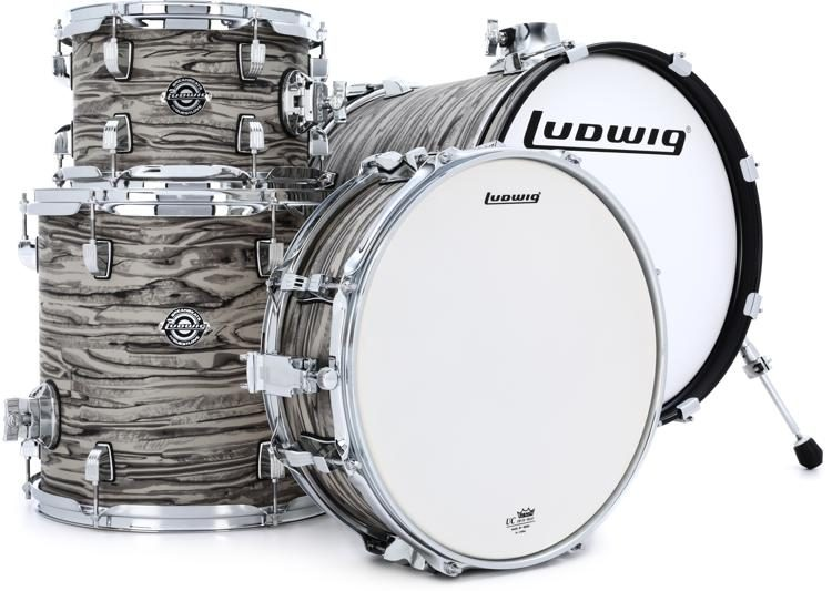 Ludwig Breakbeats By Questlove 4-piece Shell Pack with Snare Drum ...