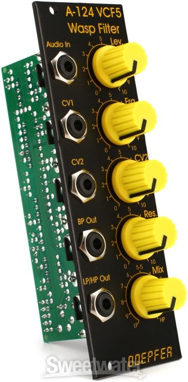 special edition black /& yellow version Doepfer A-124 Wasp Filter SE Module