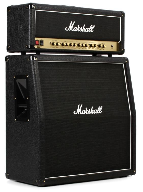 marshall dsl100hr bundle - head and mx412ar cabinet bundle | sweetwater