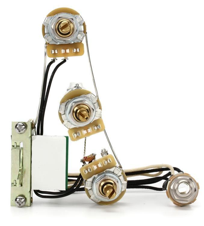 Prime Mojo Tone Solderless Strat Wiring Harness Blender Sweetwater Wiring 101 Archstreekradiomeanderfmnl