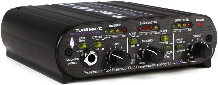 Tube MP/C Tube Preamp / Opto Compressor-Limiter / DI