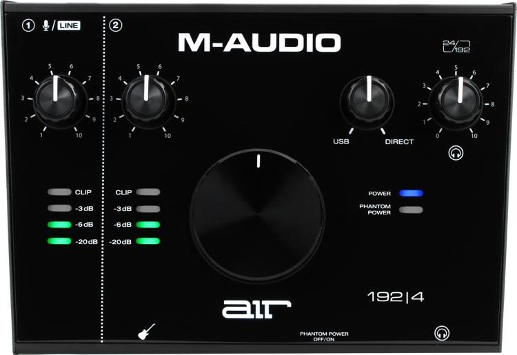 M Audio Air 192 4 Usb Audio Interface Sweetwater
