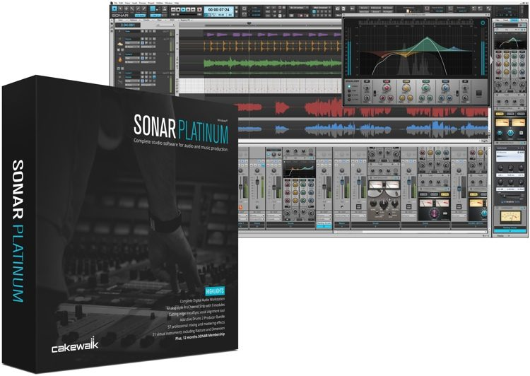 SONAR Platinum - Upgrade from any SONAR (download)