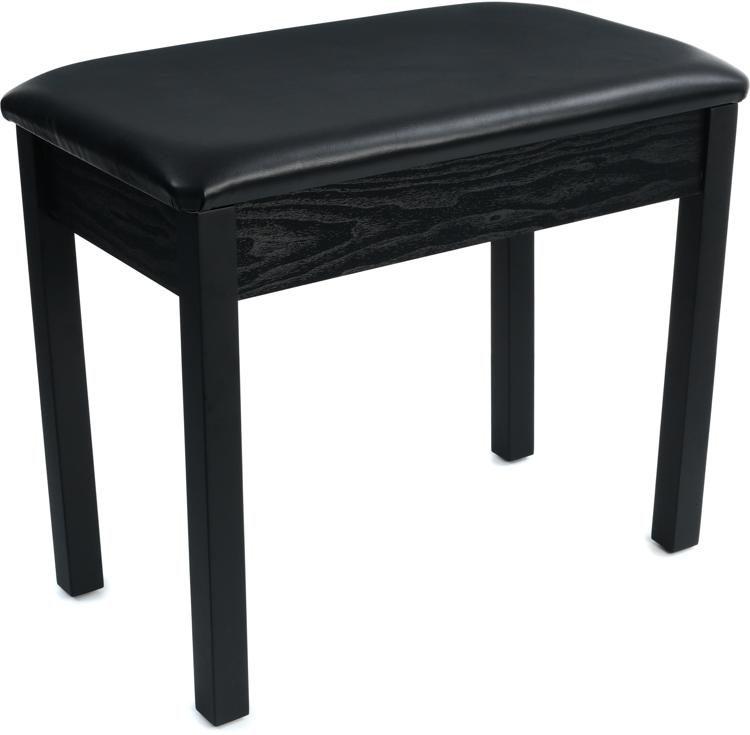 Yamaha BB1 Padded Piano Bench   Black Image 1