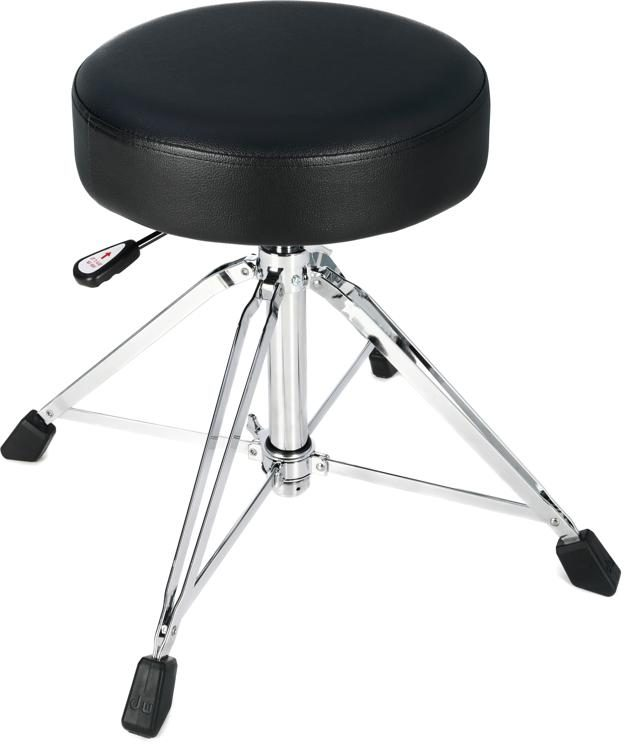 DW 9000 Series Drum Throne - Round Seat - Air LIft | Sweetwater