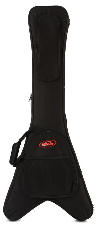 8e6f2fe8d1 SKB 1SKB-SC58 Flying V Guitar Soft Case | Sweetwater