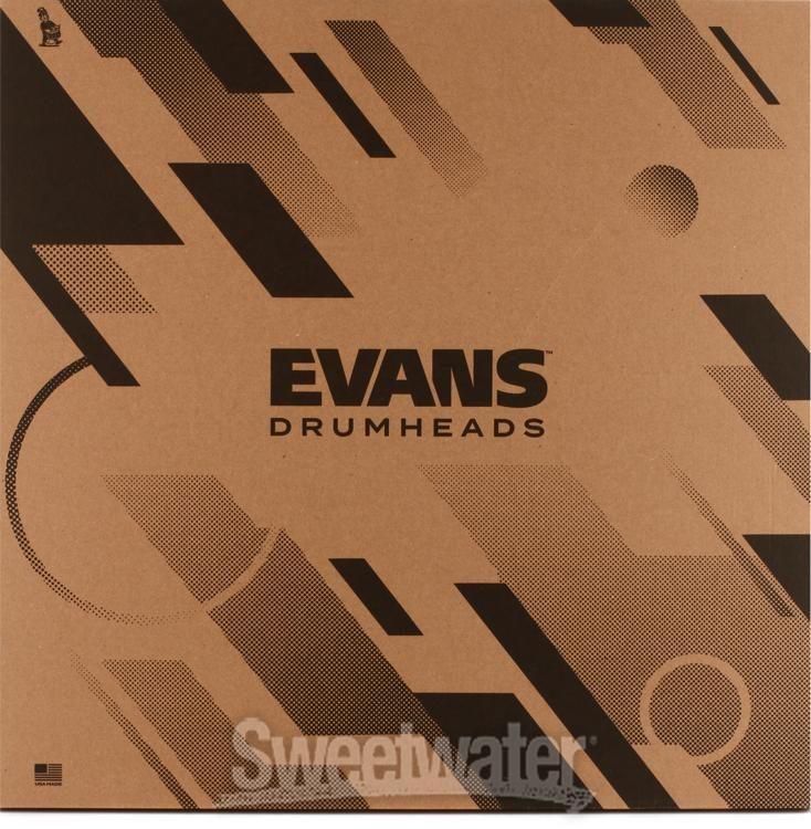 "Bassdrumfell Evans 18/"" EMAD Clear Bass Drum"