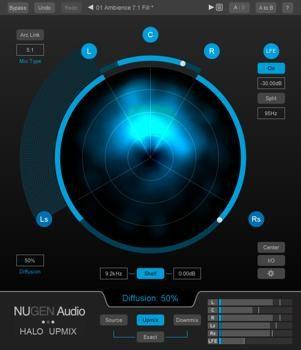 NUGEN Audio Halo Upmix | Sweetwater