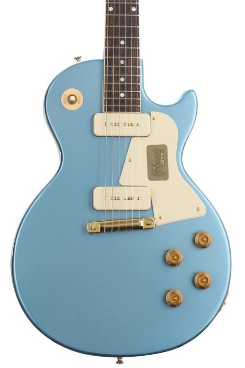 Gibson Custom Les Paul Special Single Cut Pelham Blue Sweetwater