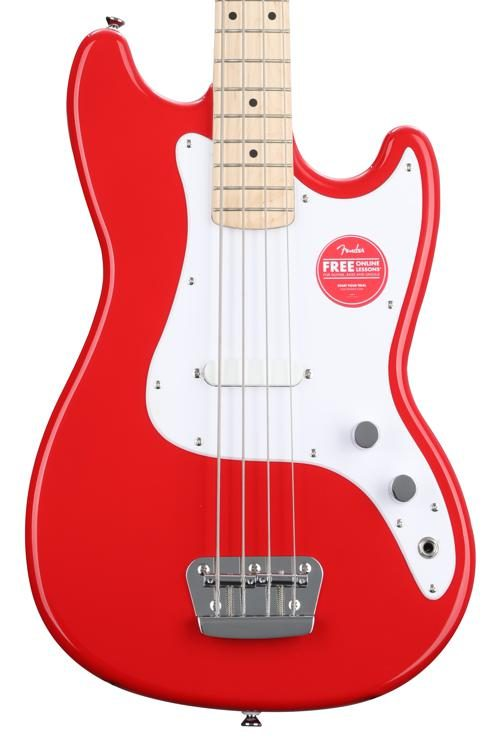 Squier Bronco Bass - Torino Red image 1