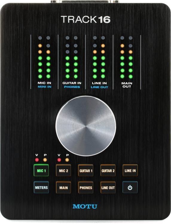 MOTU Track16 Desktop USB   FireWire Audio Interface  cd3a07126d4