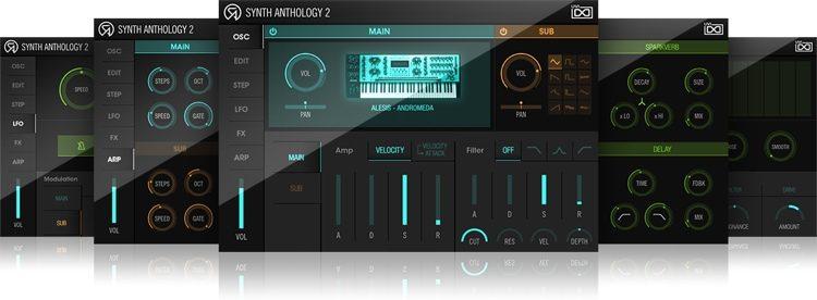 Synth Anthology 2 Virtual Instrument Bundle