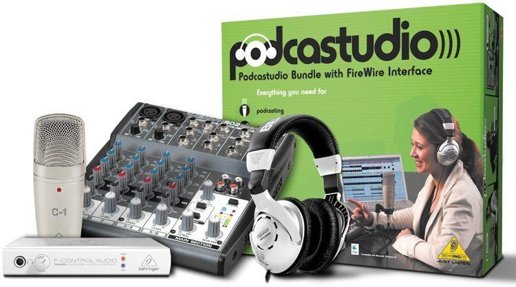 PODCASTUDIO Bundle - FireWire Recording Bundle