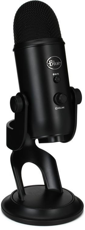 Blue Microphones Yeti Studio Blackout USB Condenser Microphone image 1 74de6591cad1