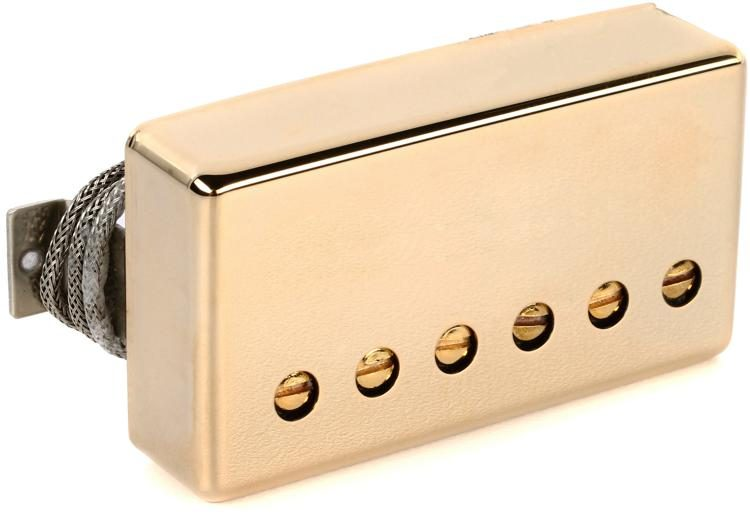 gibson accessories 57 classic plus pickup gold bridge 2 conductor image