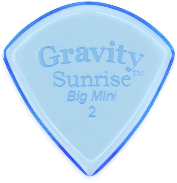 Gravity Picks Sunrise Big Mini 2mm Polished Sweetwater