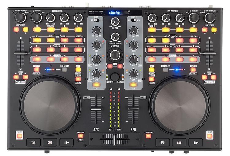 DJC 4 4-channel DJ Controller
