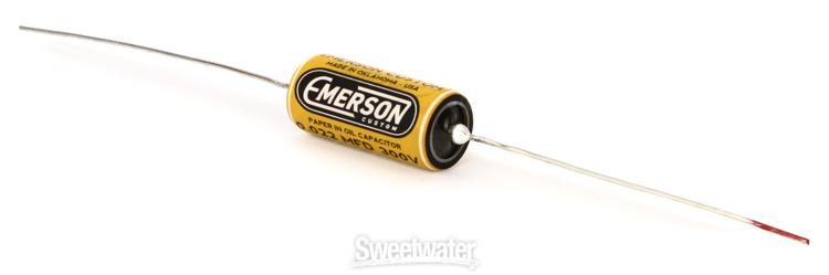 Emerson Custom Paper in Oil Tone Capacitor 0.022uf Bumblebee