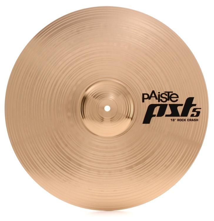 "Paiste New PST5 16/"" Rock Crash Cymbal"