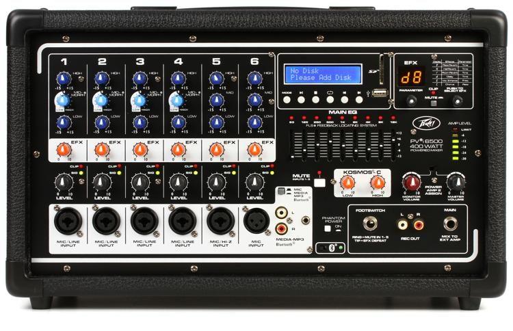 peavey pvi 6500 6channel 400w powered mixer sweeer on cs 800 diagram: peavey  horizon ii