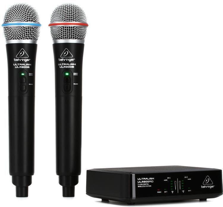ULM302MIC Wireless Dual Handheld Microphone System