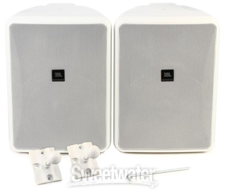 """Pair Outdoor Speakers Black Dual Electronics 4/"""" 3-Way Indoor"""