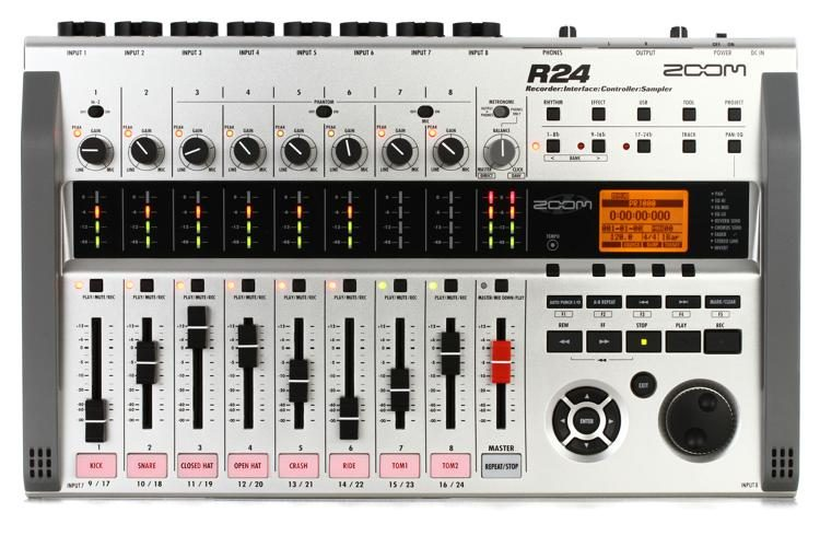 R24 24-track Recorder / Interface / Controller with Loop Sampler