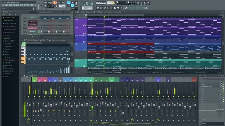 FL Studio 12 Fruity Edition For Windows (download)