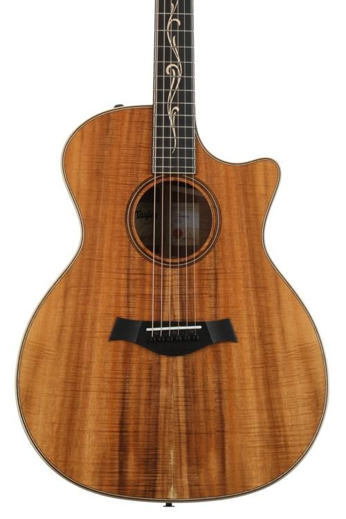 Taylor Limited Edition K24ce Grand Auditorium Cutaway Natural 2a