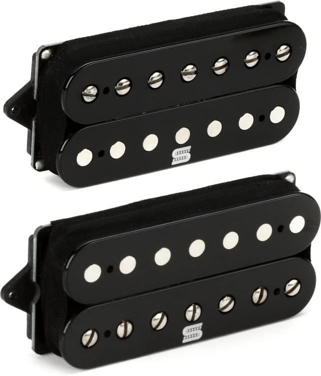 black Seymour Duncan Duality 7 String Humbucker set
