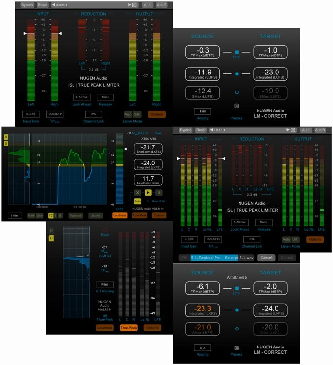 nugen audio latest plugin bundles (win-osx)