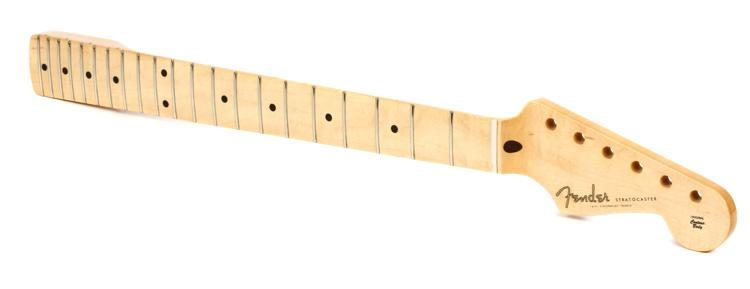 Fender Stratocaster Neck >> Fender Classic Player 50s Stratocaster Replacement Neck Maple