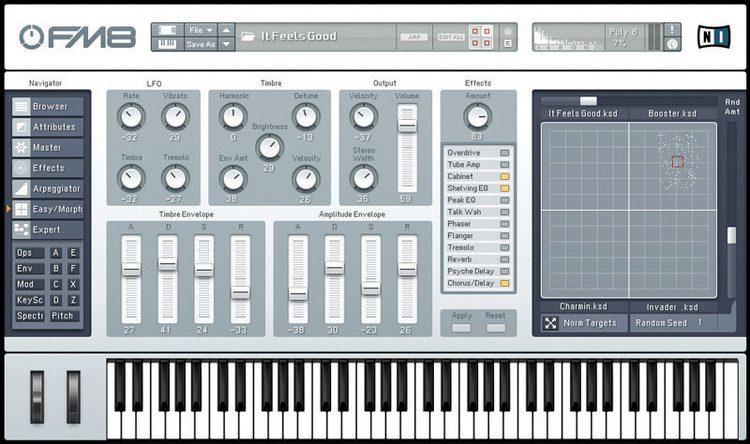 Native Instruments FM7 : Virtual Syntheziser.zip