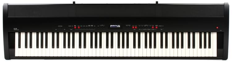 ES8 88-key Digital Piano with Speakers - Gloss Black
