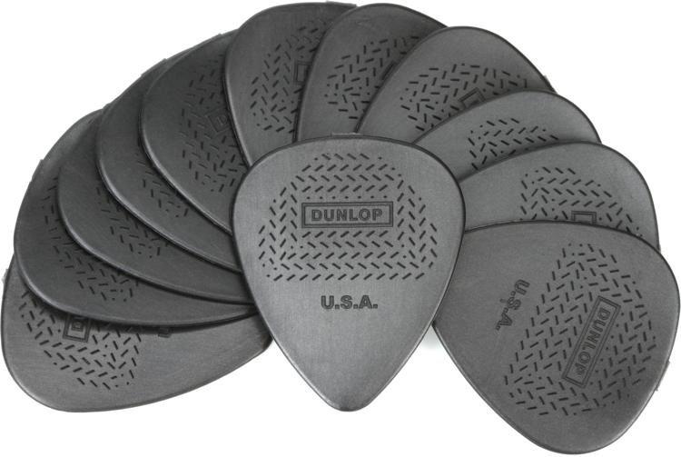 Dunlop 449P088 Nylon Max-Grip Standard Guitar Picks .88mm 12-pack ...