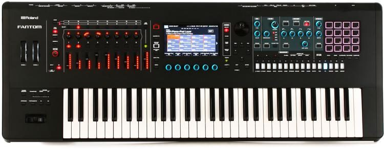 FANTOM-6 Music Workstation Keyboard