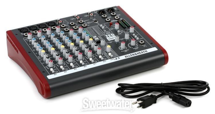 Allen /& Heath ZEDi-10FX 10-channel Mixer with USB Audio Interface and Effects Value Bu Gator G-MIXERBAG-1515 Mixer Bag