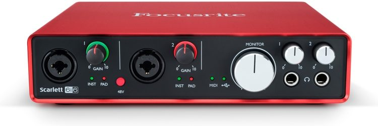 Scarlett 6i6 USB Audio Interface