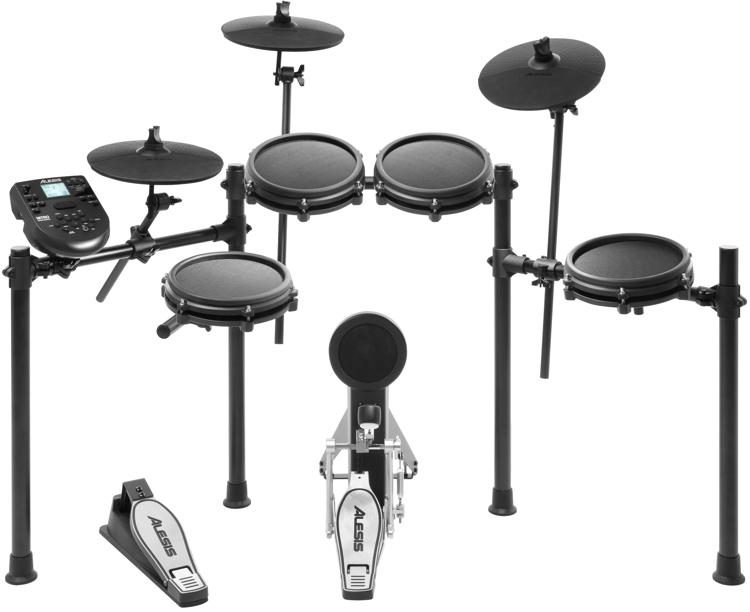 alesis nitro mesh electronic drum set sweetwater