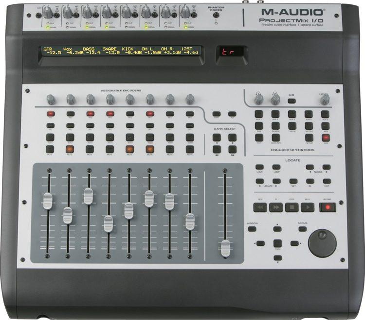 m audio projectmix i o sweetwater rh sweetwater com m-audio projectmix i/o manual M-Audio Project Mix Manual