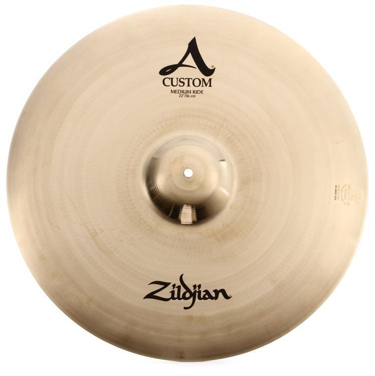 4c805c3922fa Zildjian A Custom Medium Ride Cymbal - 22