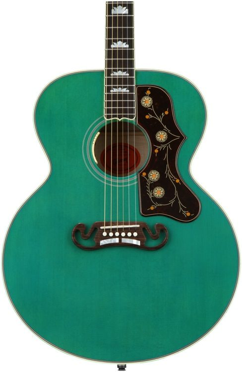 Gibson Acoustic Sj 200 Sea Green Sweetwater