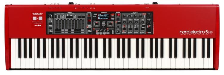 nord electro 5 hp sweetwater rh sweetwater com nord electro 2 sixty one manual nord electro 2 service manual