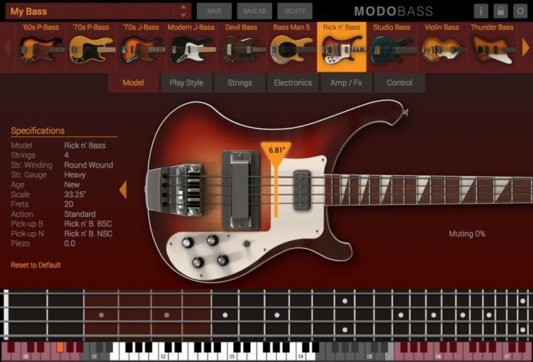 MODO Bass Plugin