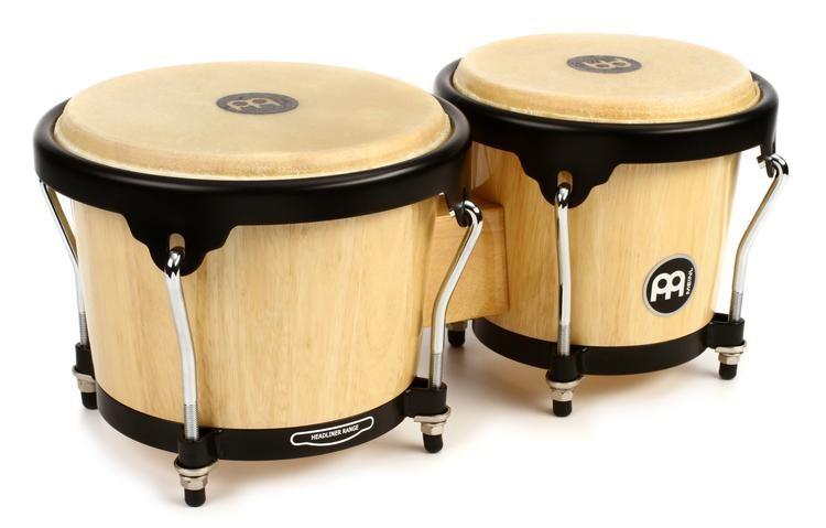 ac50481b39e4 Meinl Percussion Headliner Series Wood Bongos - Natural