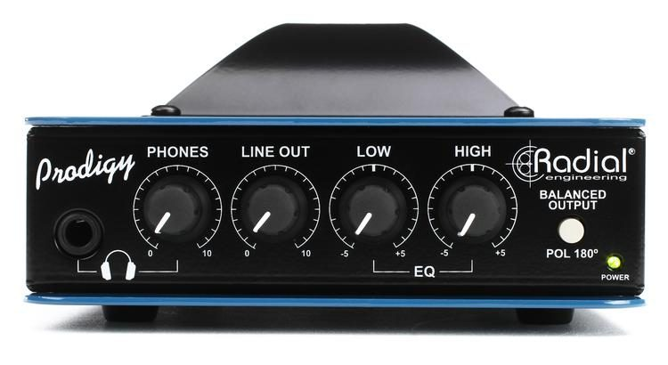 Headload Prodigy Speaker Load Box with DI & EQ